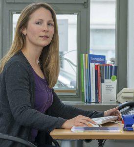 Diplom-Pädagogin Petra Jürgensen ist bei der BRÜCKE für die hier vorgestellte Beratung zuständig