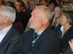 Dirk Wäcken bei der Feier zu seiner Verabschiedung als Geschäftsführer der BRÜCKE