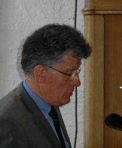 Sprach den Dank des BRÜCKE-Vereins aus: Vorsitzender Bernd Kreuder-Sonnen