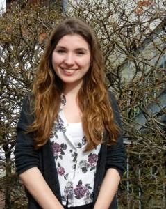 """Madeline Buurma machte das """"Freiwillige Soziale Jahr"""" bei der BRÜCKEFoto: JH"""