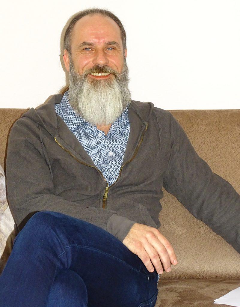 Oliver Schulz ist Leiter des Tageszentrums in der Engelsgrube.