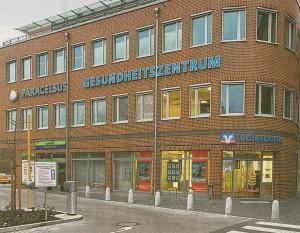 Im Paracelsus-Gesundheitszentrum in Moisling betreibt die BRÜCKE seit 2012 eine Psychiatrische-Psychotherapeutische Praxis