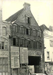 Sanierung des Speichers in der Engelsgrube 47 (ab 1981), heute das Tageszentrum der BRÜCKE
