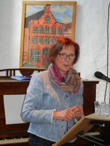 Überbrachte Grußworte und Glückwünsche der Hansestadt: Stadtpräsidentin Gabriele Schopenhauer