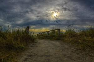 Dünenaufgang - ein Foto von Ralf Urbschat