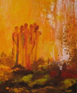 Susanne Maining zeigt Öl- und Acrylmalerei bei der BRÜCKE